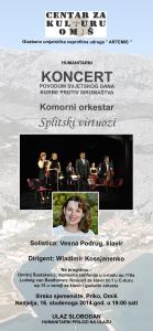 Die Virtuosen von Split - Omiš 16.11.2014