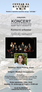 The Virtuosos of Split - Omiš November 16th, 2014