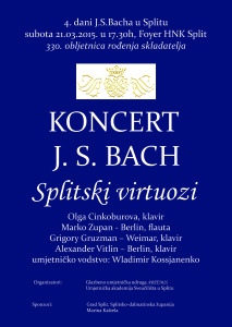 Plakat JSBACH 330