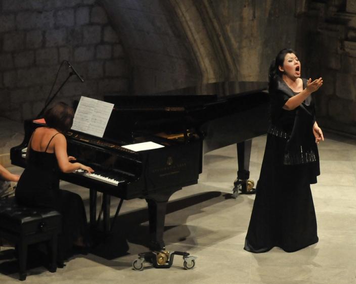 Hui He and Vesna Podrug, Dubrovnik