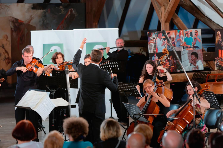 Conducting Camerata Orphica Varna 2016