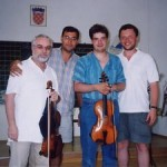 with Michael Kugel, Misha Zemtsov and Ilan Schneider