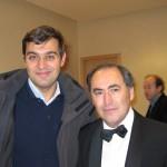 with Michael Kopelman in Musikverein, Vienna