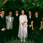 Queen Margrethe II of Denmark, Wladimir Kossjanenko, Jean-Guihen Queyras, Yuliya Gorenman, Andras Adorian, Igor Malinovsky Chateau de Cayx