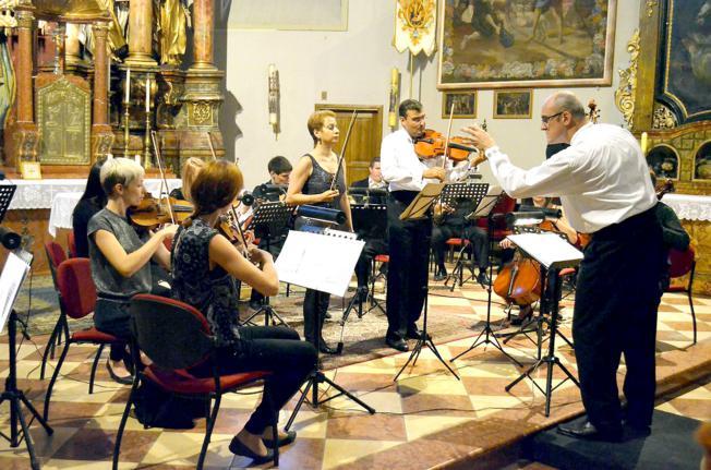 Splitski virtuozi i Mladen Tutavac, Osijek
