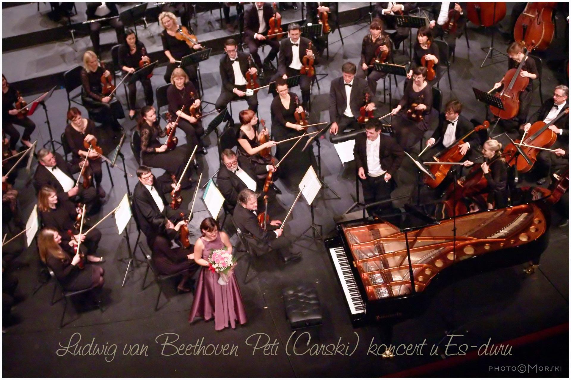 Vesna Podrug_Alan Bjelinski_Orkestar HNK Split_Beethoven