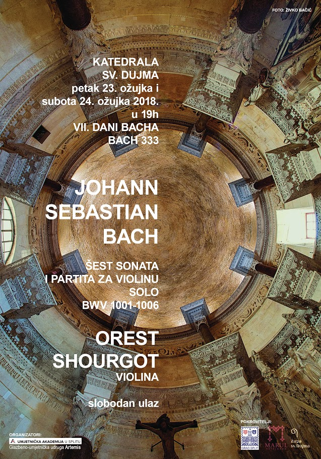 VII Days of Bach_PLAKAT - SHOURGOT