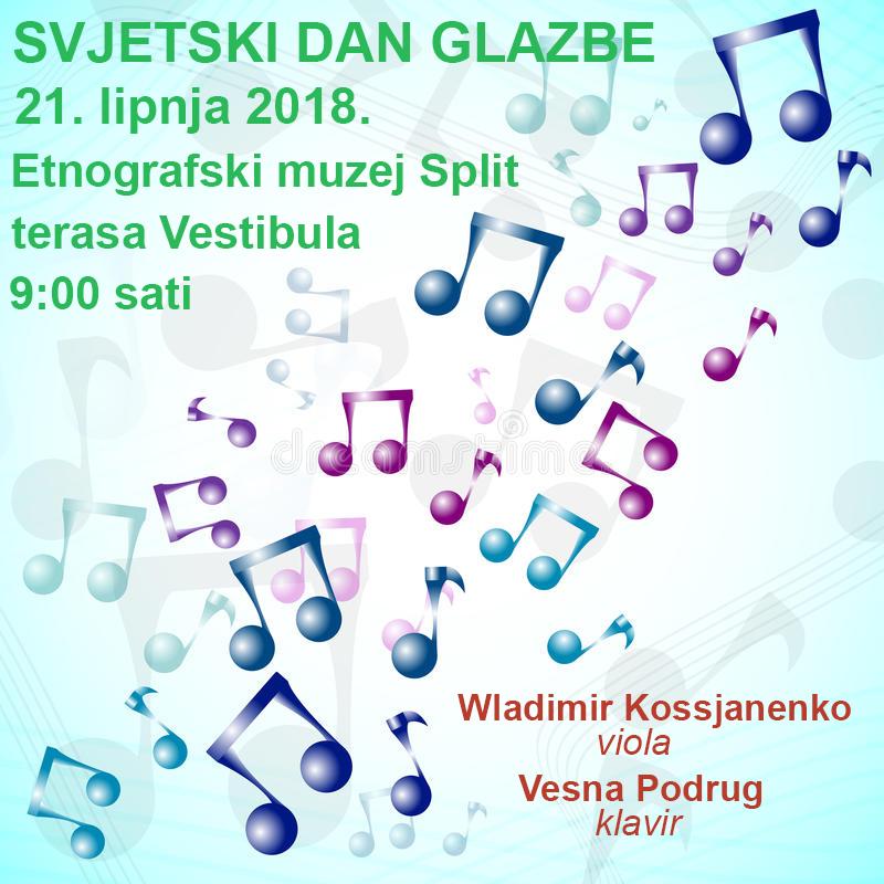 svjetski dan glazbe 2018 - Dioklecijan