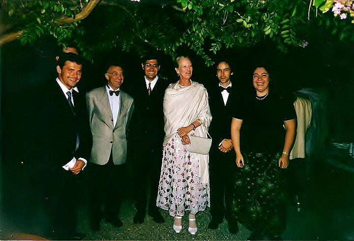 With Her Majesty Margrethe II of Denmark, Chateau de Cayx, Wladimir Kossjanenko, Jean-Guihen Queyras, Yuliya Gorenman, Andras Adorian, Igor Malinovsky
